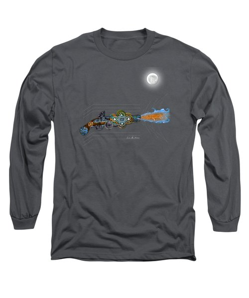 Thunder Gun Of The Dead Long Sleeve T-Shirt
