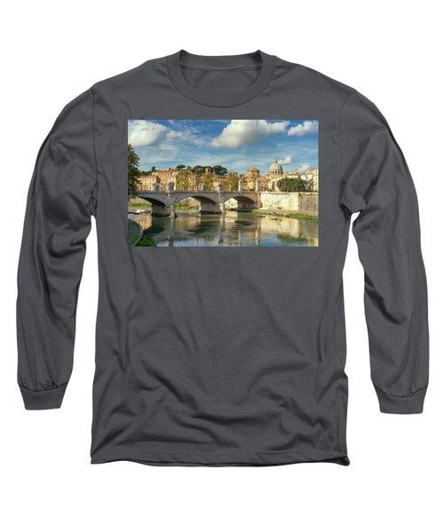 Tiber View Long Sleeve T-Shirt