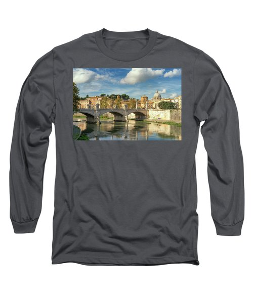 Tiber View Long Sleeve T-Shirt