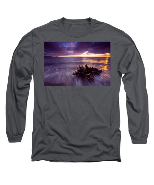 Tide Driven Long Sleeve T-Shirt by Mike  Dawson
