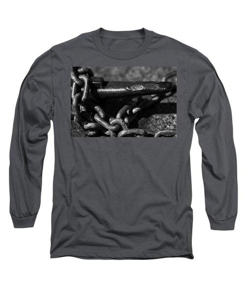 Tied Down Long Sleeve T-Shirt by Jason Moynihan