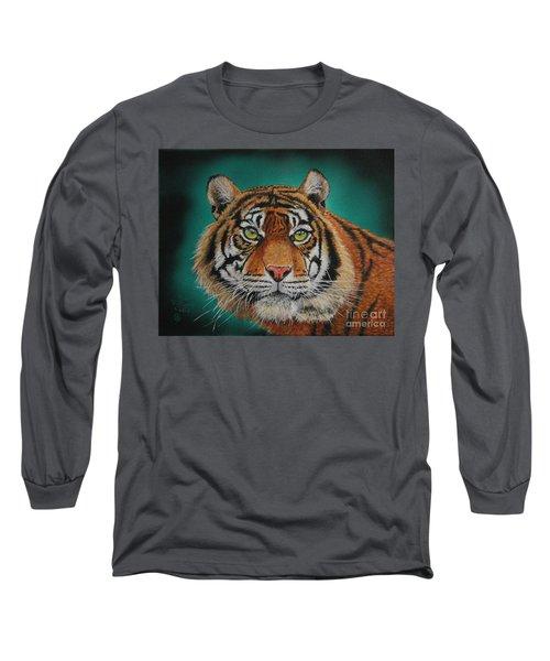 Tiger Portrait......amur Tiger Long Sleeve T-Shirt