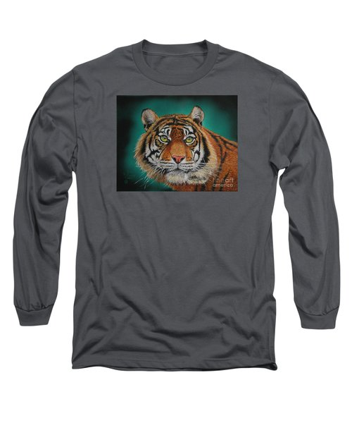 Tiger Portrait......amur Tiger Long Sleeve T-Shirt