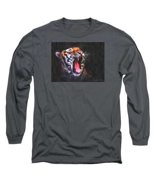 Tiger Roar Long Sleeve T-Shirt