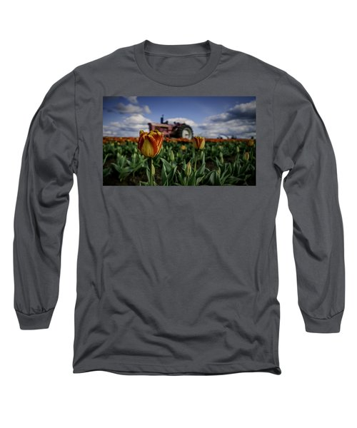 Tiger Tulip Long Sleeve T-Shirt