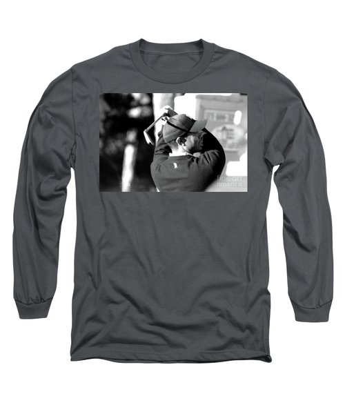 Tiger Woods Blk Wht  Long Sleeve T-Shirt