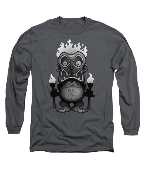 Tiki Munkee Long Sleeve T-Shirt