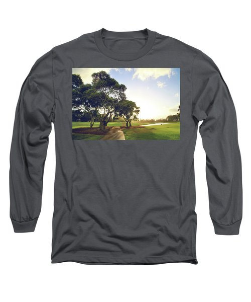 Long Sleeve T-Shirt featuring the photograph 'til I'm In Your Arms Again by Laurie Search