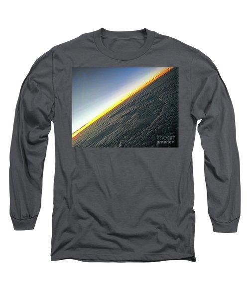 Long Sleeve T-Shirt featuring the photograph Tilt Horizon by Robert Knight