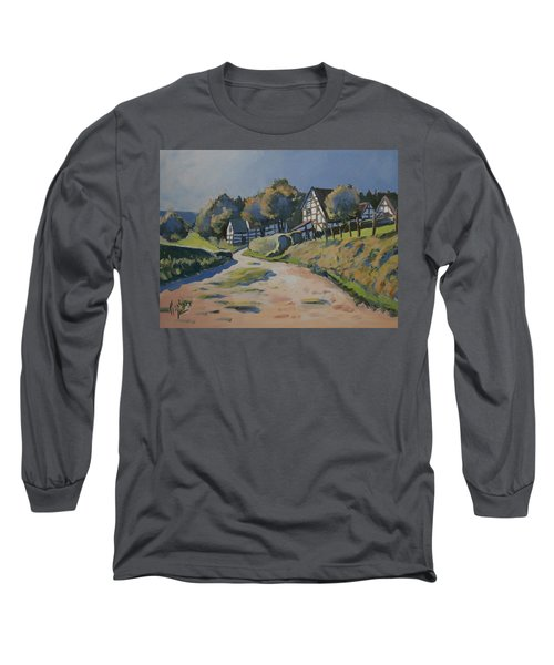 Timbered Houses In Terziet Long Sleeve T-Shirt