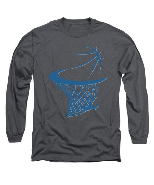 Timberwolves Basketball Hoop Long Sleeve T-Shirt