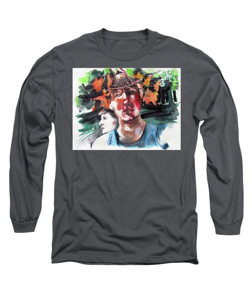 Time And Changing Seasons  Long Sleeve T-Shirt