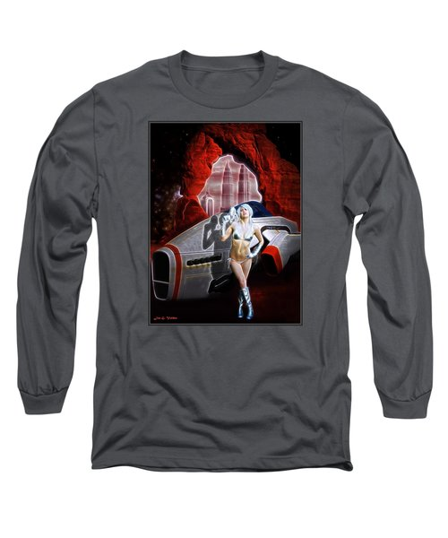 Time And Space Portal Long Sleeve T-Shirt