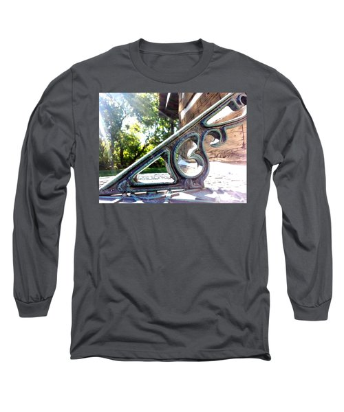 Long Sleeve T-Shirt featuring the photograph Time At An Angle by Robert Knight