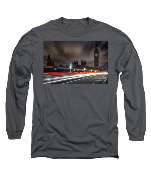 Time Long Sleeve T-Shirt by Giuseppe Torre