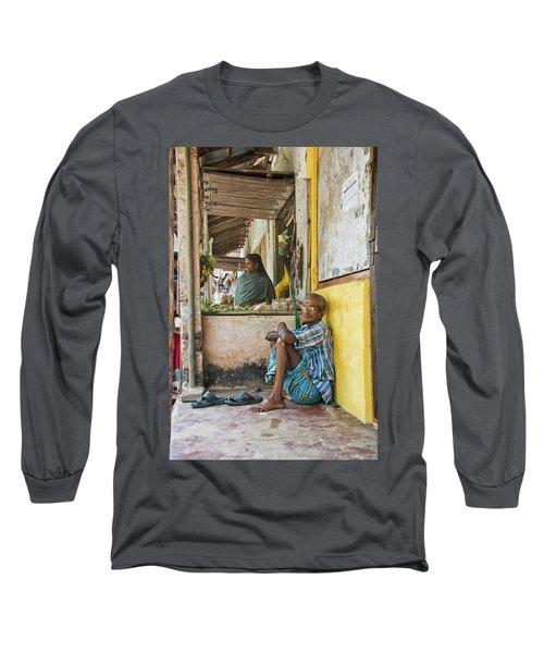 Long Sleeve T-Shirt featuring the photograph Kumarakom by Marion Galt