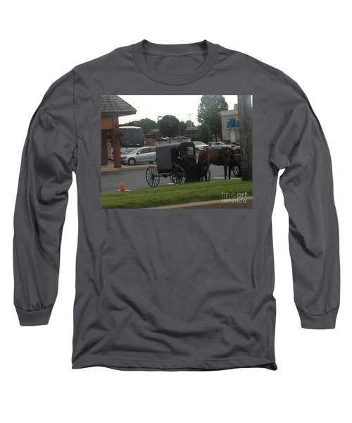 Time To Shop Long Sleeve T-Shirt