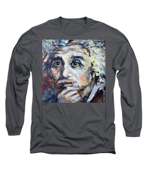 Time To Think Long Sleeve T-Shirt by Mary Schiros