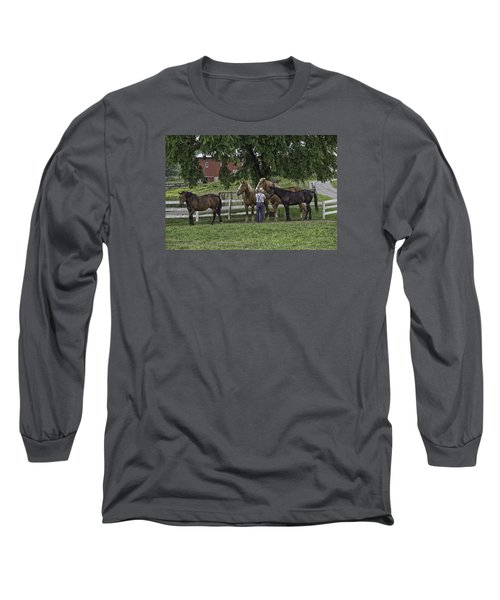 Time To Work Long Sleeve T-Shirt