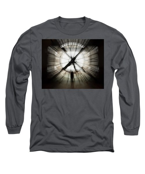 Time Waits For None Long Sleeve T-Shirt