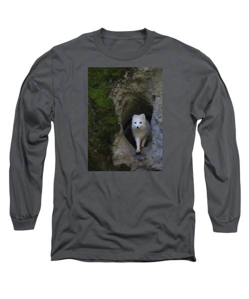 Timidly Long Sleeve T-Shirt by I'ina Van Lawick