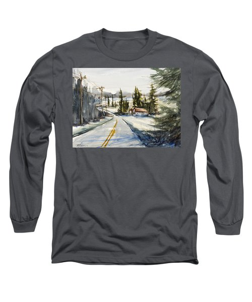Tin Roof Rusted Long Sleeve T-Shirt by Judith Levins