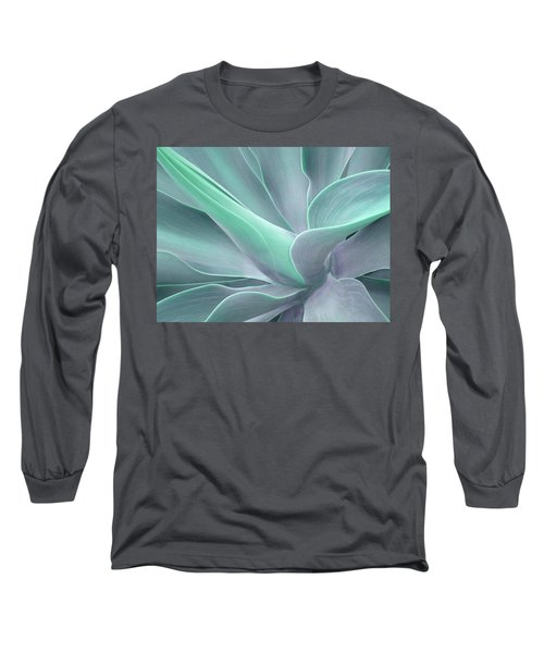 Tinted Agave Attenuata Abstract Long Sleeve T-Shirt