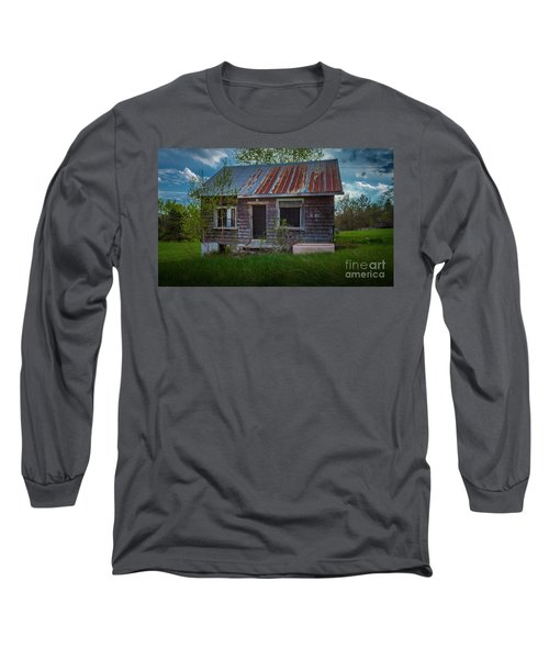 Tiny Farmhouse Long Sleeve T-Shirt