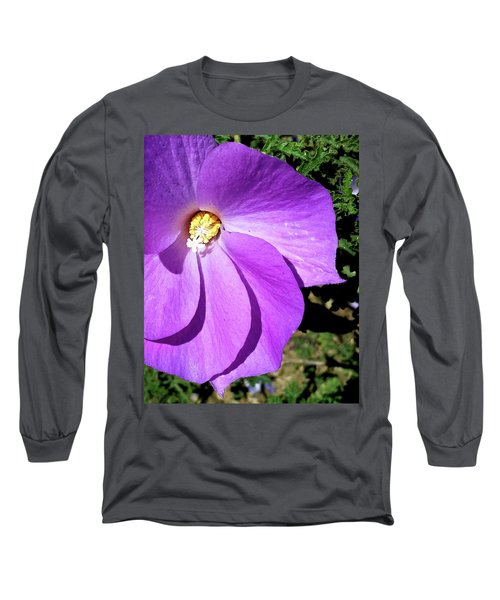 Tiny Purple Flower Long Sleeve T-Shirt