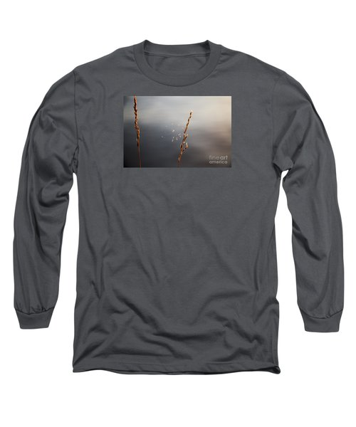 Long Sleeve T-Shirt featuring the photograph Tiny Web by Rebecca Davis