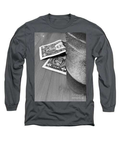 Tip For A Draft Beer Long Sleeve T-Shirt by WaLdEmAr BoRrErO