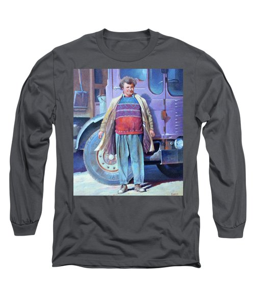 Long Sleeve T-Shirt featuring the painting Tipperman 1970. by Mike Jeffries