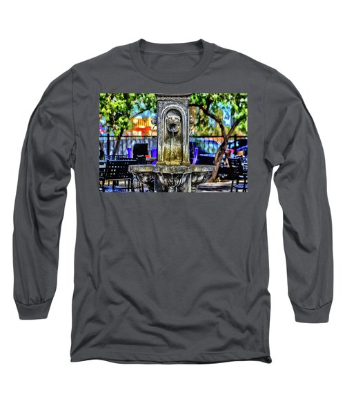 Long Sleeve T-Shirt featuring the photograph Tipsy by Michael Rogers