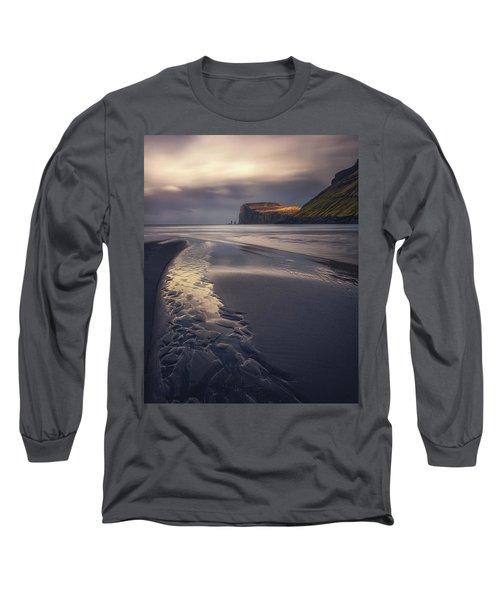 Tjornuvik Beach Long Sleeve T-Shirt