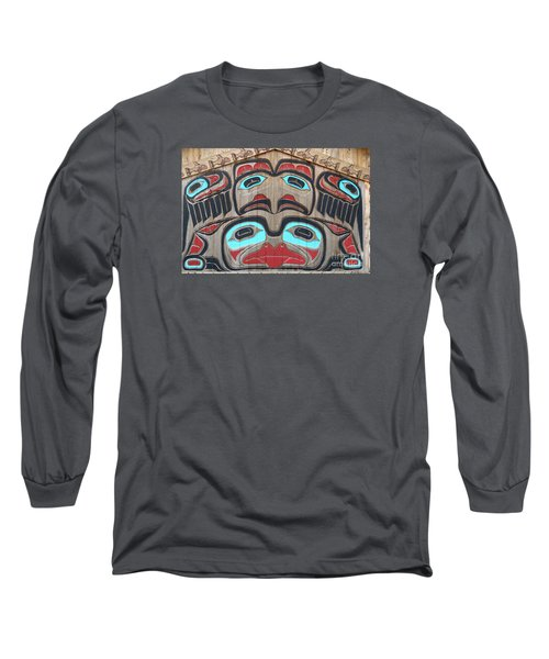 Tlingit Wall Panel Long Sleeve T-Shirt