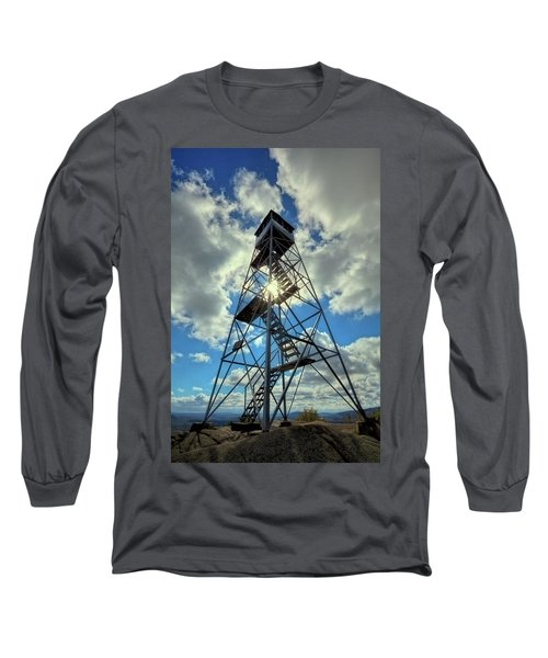 To Climb Or Not To Climb Long Sleeve T-Shirt by David Patterson