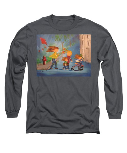To The Park Long Sleeve T-Shirt by Terri Einer