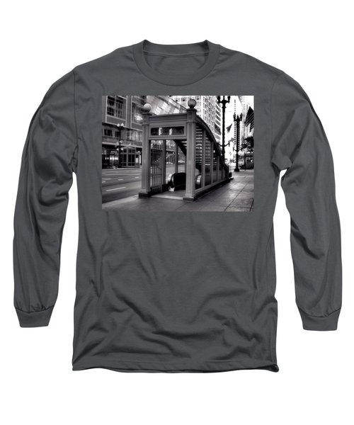 To The Subway - 2 Long Sleeve T-Shirt by Ely Arsha
