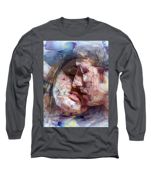 An Interval Of Time Long Sleeve T-Shirt by Moustafa Al Hatter