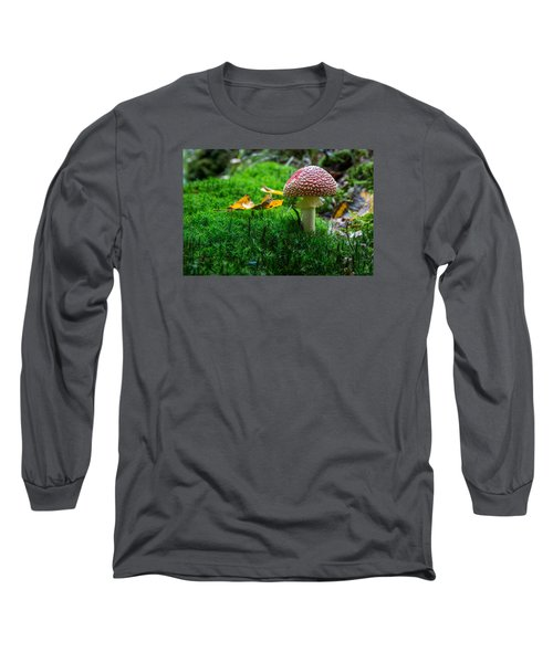 Toadstool Long Sleeve T-Shirt by Andreas Levi