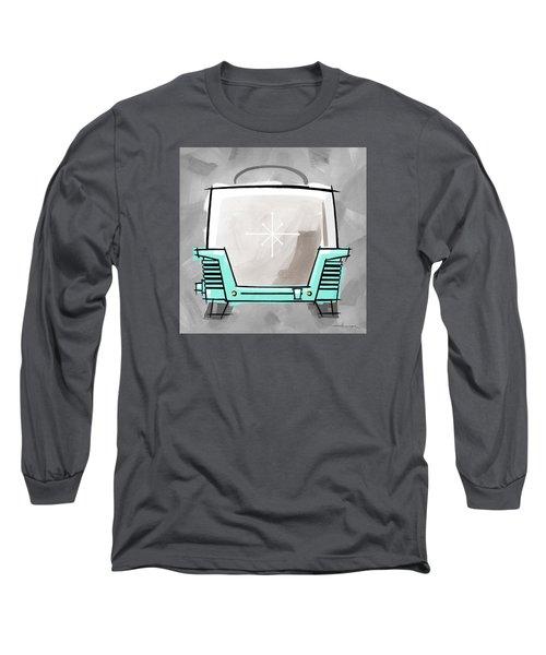Toaster Aqua Long Sleeve T-Shirt