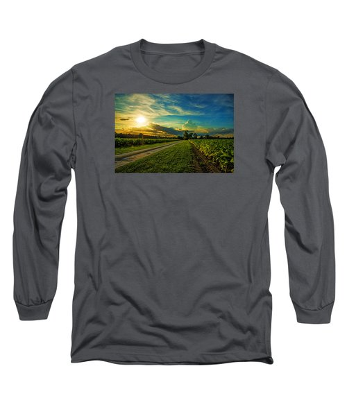 Tobacco Row Long Sleeve T-Shirt by John Harding