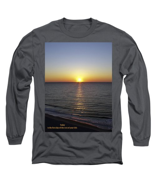 Long Sleeve T-Shirt featuring the photograph Today by Rhonda McDougall