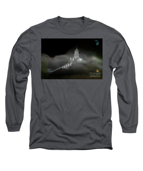 Long Sleeve T-Shirt featuring the photograph Todos Santos In The Fog by Al Bourassa
