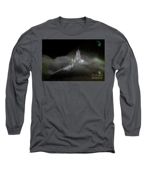 Todos Santos In The Fog Long Sleeve T-Shirt by Al Bourassa