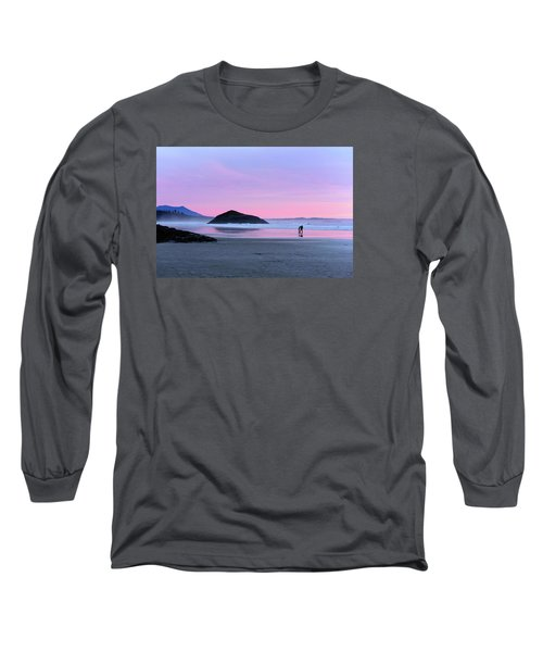 Tofino Sunset Long Sleeve T-Shirt by Keith Boone