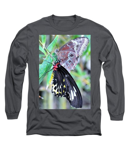 Long Sleeve T-Shirt featuring the photograph Together Always by Kicking Bear Productions
