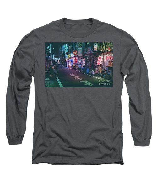 Tokyo Side Streets, Japan Long Sleeve T-Shirt