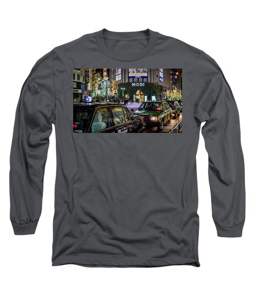 Tokyo Taxis, Japan Long Sleeve T-Shirt