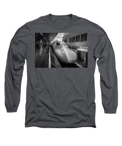 Tokyo To Kyoto Bullet Train, Japan 3 Long Sleeve T-Shirt
